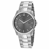 Kenneth Cole Classic 10007867 Men's Round Silver Stainless Steel Watch