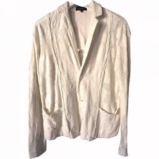 Pas De Calais Ecru Cotton Jacket for Women