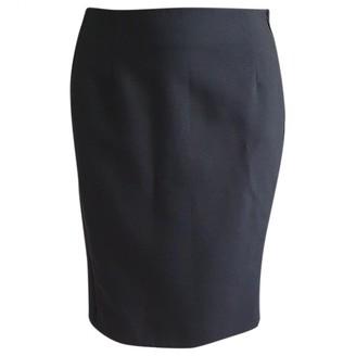 Bouchra Jarrar Black Wool Skirt for Women