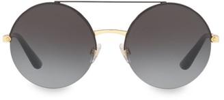 Dolce & Gabbana 54MM Round Aviator Sunglasses