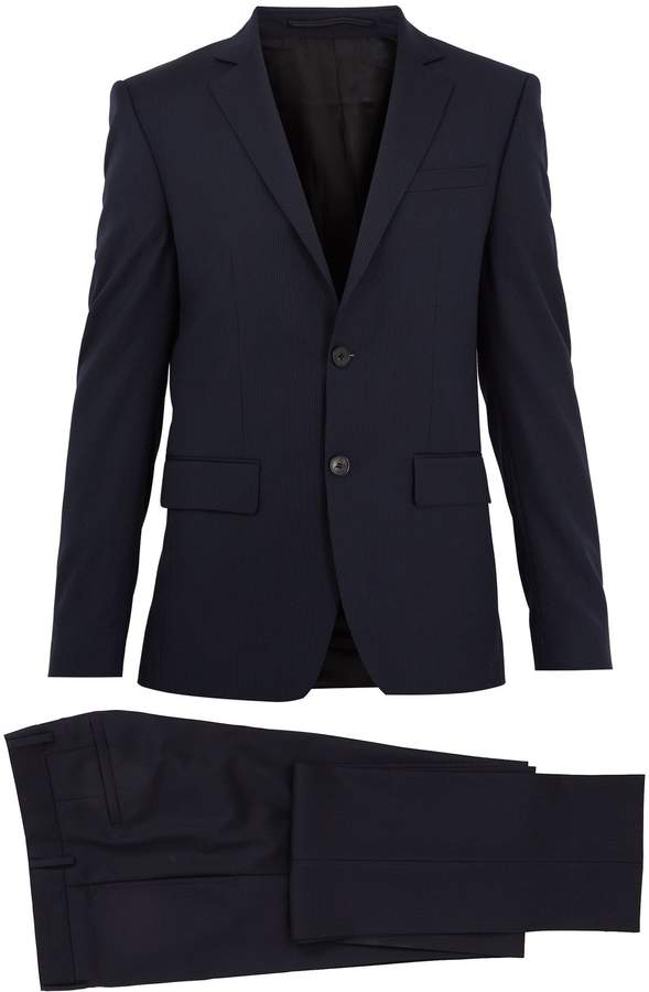 Givenchy Single-breasted striped wool suit