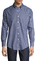 Brooks Brothers Checkered Print Sportshirt
