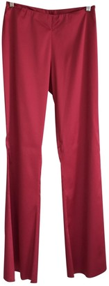 La Perla Red Trousers for Women