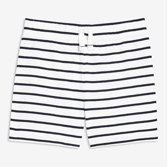 Joe Fresh Baby Boys' Jersey Knit Shorts, White (Size 12-18)