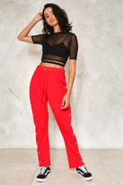 Nasty Gal nastygal Both Sides Now Tear-Away Jogger Pants
