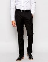 Antony Morato Tuxedo Suit Trousers In Slim Fit - Black