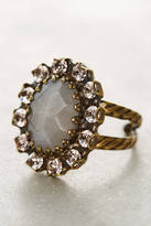Sorrelli Elliptic Crystal Cocktail Ring