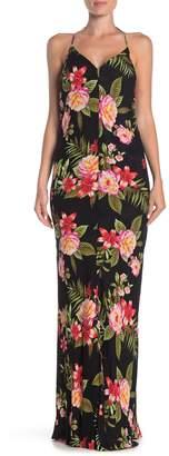 Yumi Kim Stargazer Backless Reversible Maxi Dress