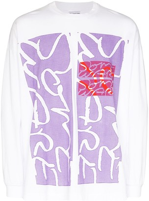 Some Ware graphic print long-sleeve T-shirt