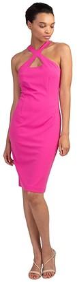 Trina Turk Izmir Dress (Raspberry) Women's Dress