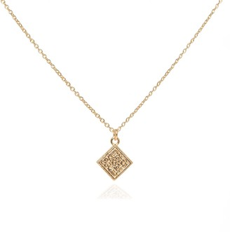 Coco Mango Jewellery Luxe Athena 18K Gold Coin Necklace