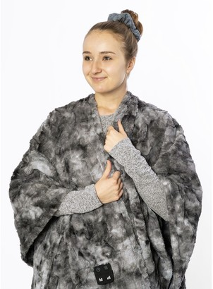 Homedics Cordless Throw & Cape with Soothing Heat & Vibrating Massage