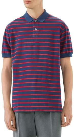 Gucci Oversized Stripe Polo