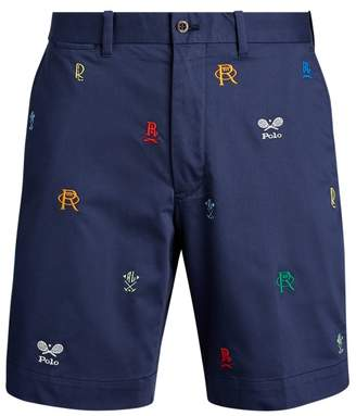 Ralph Lauren Classic Fit Embroidered Short