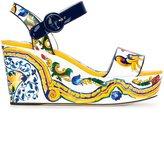 Dolce & Gabbana 'Bianca' wedge sandals