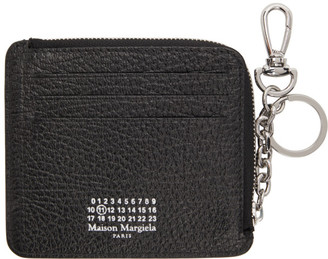 Maison Margiela Black Keychain Card Holder