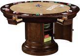 Howard Miller Ithaca Game Table in Hampton Cherry