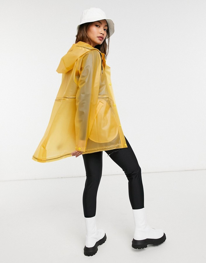 Thumbnail for your product : Hunter womens original raincoat in yellow