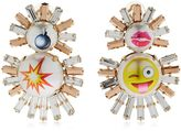 Emoji Live Fast Clip-On Earrings
