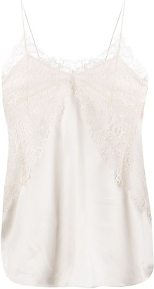 IRO Branda sleeveless lace top