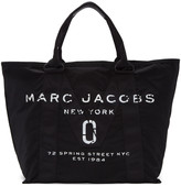 Marc Jacobs Black Large New Logo Tote