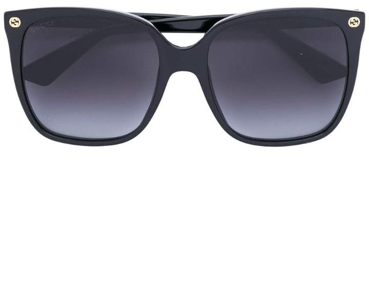 Gucci oversize gradient square sunglasses
