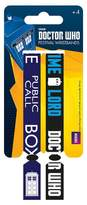 Doctor Who Wristbands time lord Call Box new Official 2 x Fabric Strap Festival