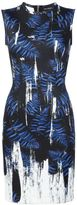 Yigal Azrouel abstract print dress