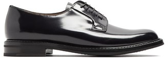 Church's Shannon 2 Lace Up Leather Derby Shoes - Womens - Black