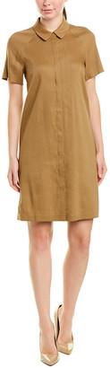 Lafayette 148 New York Shaylin Linen-Blend Shirtdress
