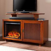 Southern Enterprises Somerset Media Console Electric Fireplace