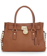 Hamilton Gold Hardware East West Satchel