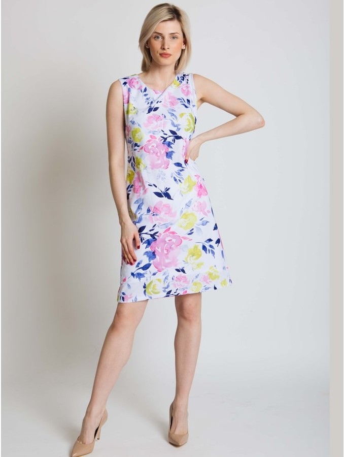 M&Co Jessica Graaf floral print shift dress
