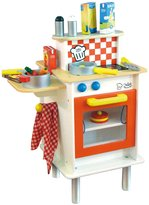 Vilac Double Side Large Kitchen With Accessories