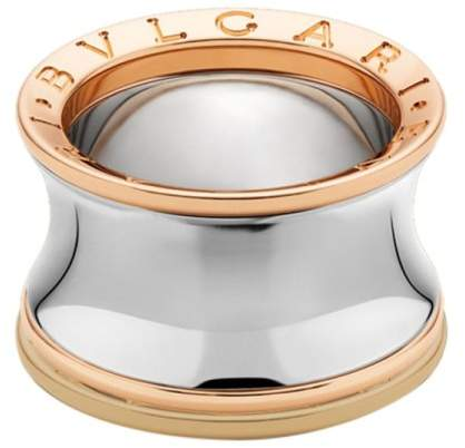 Bulgari Bvlgari Anish Kapoor B. Zero 1 Steel and Rose Gold Ring