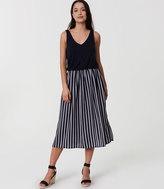LOFT Tall Striped Duet Dress