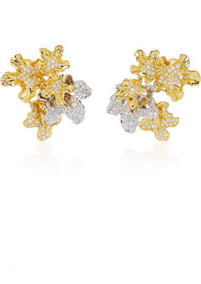 Neha Dani M'O Exclusive: One-Of-A-Kind Chantal Earrings