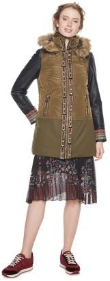 Desigual Women's's Padded_porto Coat