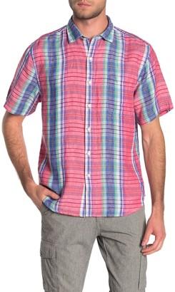 Tommy Bahama Tellaro Plaid Button Down Shirt