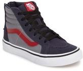 Vans Infant Boy's Sk8-Hi Zip Pop Sneaker