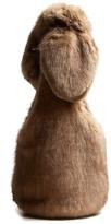 Simone Rocha Bow-tied faux-fur shoulder bag