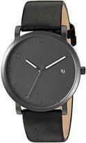Skagen Men's SKW6308 Hagen Black Leather Watch