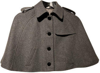 American Retro Grey Wool Jackets