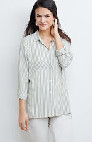 J. Jill Yarn-Dyed Striped Rayon Shirt