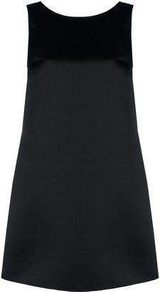 Elisabetta Franchi Bow-Embellished Shift Dress
