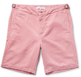 Orlebar Brown - Jonathan Cotton And Linen-blend Twill Shorts