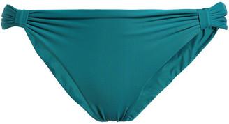 Lenny Niemeyer Gathered Low-rise Bikini Briefs