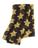 Nintendo Official Super Mario Bros Super Star Cotton Fashion Scarf - Adult