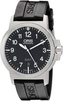 Oris Men's 73576414164RS BC3 Rubber Strap Dial Watch