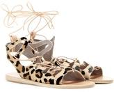 Ancient Greek Sandals Antigone calf hair sandals